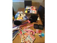 Joblot knitting items