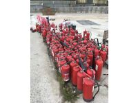 Fire extinguishers - free to collect