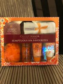 Brand new and sealed sumptuous spa gift set