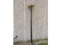 Chimney Sweeping Brush and Rods (5 x 1.4m rods)
