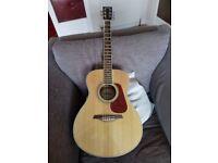 Vintage V300 Acoustic Guitar... Natural Finish..£85