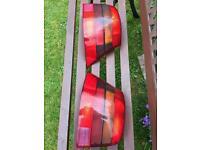 Rear lights mk4 golf