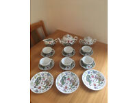 Chinese Vintage Tea Set From 1987 Dragon & Phoenix Pattern