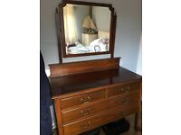 edwardian mahogany dressing table . in excellent condition. A bargain price