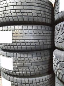 """16"""" BMW,MINI COOPER WINTER PACKAGE SET 5X120 STEEL RIMS WITH 205/55R16 YOKOHAMA ICE GUARD WINTER TIRES USED FOR SALE"""