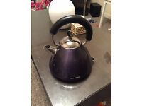 Traditional Styled Electric Purple Kettle