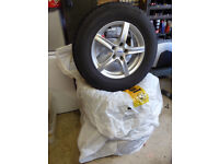 16 inch alloy rims fitted with winter tyres in excellent condition