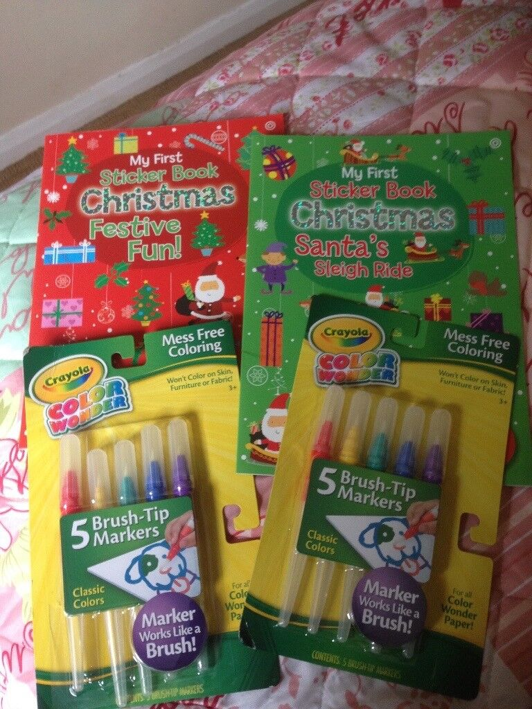Christmas activity books and extras