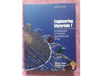 Engineering Materials 1. An introduction to properties, applications & design; 3rd edition