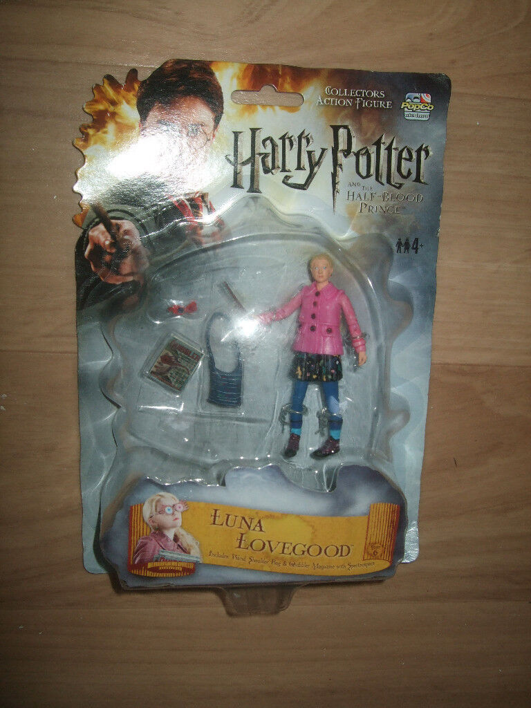 Harry Potter Luna Lovegood,Harry Potter and the Half Blood Prince figure,rare