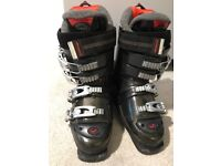 Women's Nordica Ski Boots Size 5 and Boot Bag