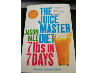 Juicy MASTER diet Jason Vale book