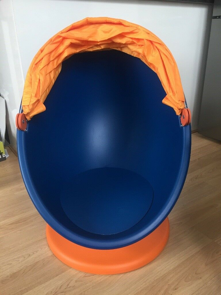 Outstanding Ikea Ps Lomsk Swivel Armchair Orange Blue In Woolwich London Gumtree Andrewgaddart Wooden Chair Designs For Living Room Andrewgaddartcom