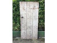 VARIOUS OLD ANTIQUE VINTAGE WOODEN DOORS £5