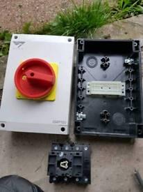 Electrical 4 Pole Isolator 100 Amp