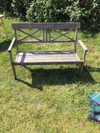 Quality Charleston collection designed Wooden bench