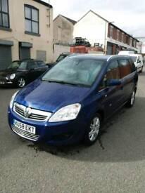 Vauxhall zafira 2009 7seat 1.9cdti
