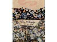 Miss Selfridge Ditsy Floral High Waisted Skirt size 6
