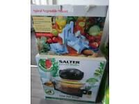 New Low fat fryer(Salter) + Veg Slicer