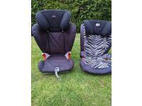 Britax 2x Group 4 car seats
