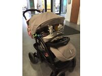 3 in 1 Graco Quattro Deluxe Bear & Friends Travel System