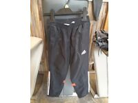 Boys Adidas track suit bottoms