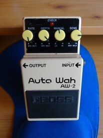 Boss Auto Wah pedal