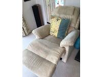 Sherborne Lynton 2 seater settee, reclining chair and matching reclining 2 seater settee