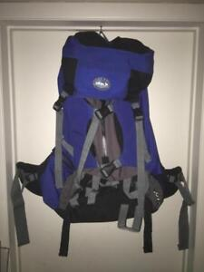 bf16fb9d1228 Rockwater Designs Blue Hiking Backpack