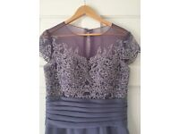 Mark Lesley Bridesmaid dress satin with lace