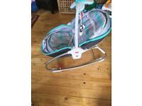 Tiny love rocker napper baby bouncer chair
