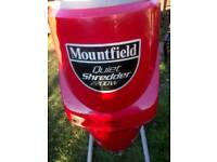 Mountfield quiet shredder