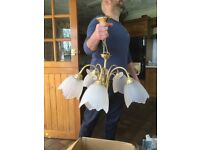 Free light fitting and side lights