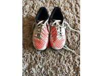 Size 10 Adidas trainers kids/ toddler