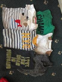 Boys jumpers and tops