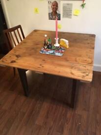 Vintage industrial Pallet Table