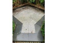 Granite patio area 2.5m2 +