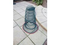LARGE ANGLERS COLLAPSIBLE TUNNEL FISHING LANDING NET