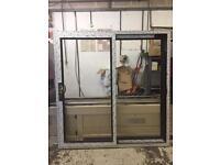 Mahogany patio door