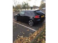 Audi A3 Black edition FULLY LOADED 2011 12 months mot