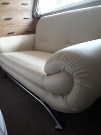 Two seater settee as new