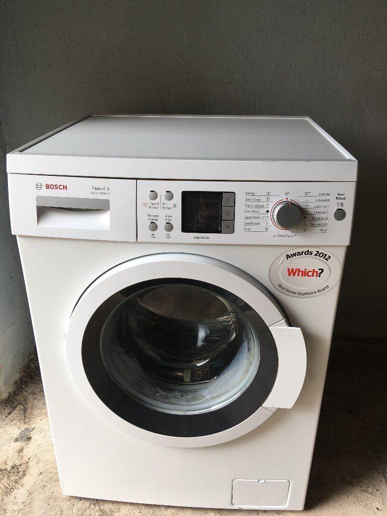 Bosch Exxcel 8 Vario Perfect freestanding washing machine.