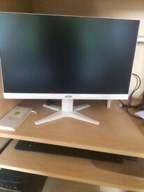 Acer monitor Lenovo tower