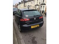 SEAT Ibiza in Black, 2005 1.2L 3dr failed MOT - quoted £200 to fix & pass.
