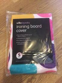 Polka dot ironing board cover