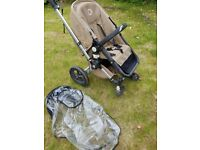Bugaboo Frog pushchair with raincover