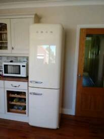 SMEG fridge freezer SOLD PENDING COLLECTION