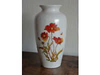 Poole Pottery Vase - Poppies
