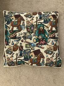 Cushion with feather inner
