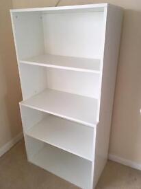 White IKEA storage/shelving unit